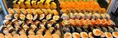Thai-Sushi buffet - 10,90€